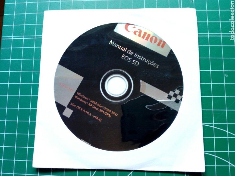 MANUAL DE INSTRUÇOES CANON EOS 5D (EN PORTUGUÉS) - CD MANUAL DE INSTRUCCIONES - DIGITAL (Cámaras Fotográficas - Réflex (autofoco))