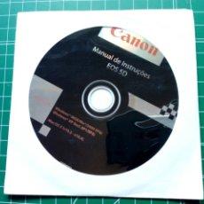 Cámara de fotos: MANUAL DE INSTRUÇOES CANON EOS 5D (EN PORTUGUÉS) - CD MANUAL DE INSTRUCCIONES - DIGITAL. Lote 283357258