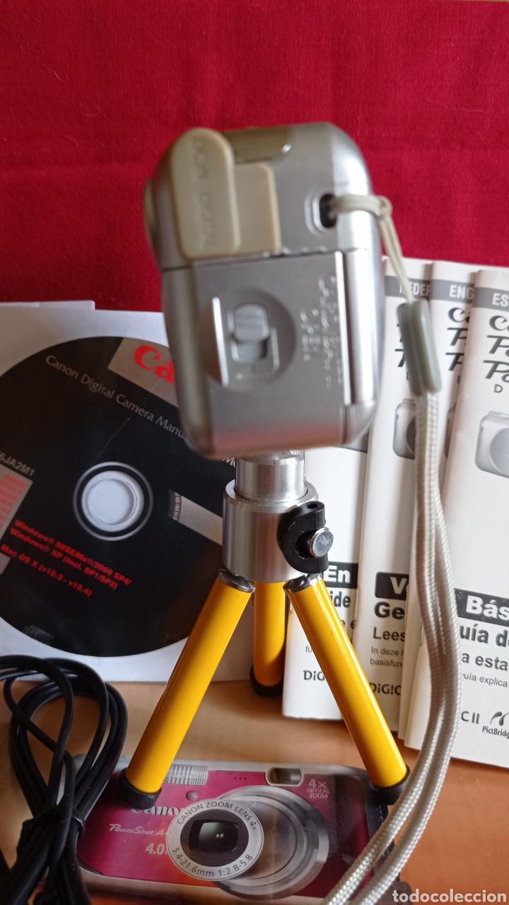 Cámara de fotos: CAMARA DIGITAL CANON / POWER SHOT A - 430 / EN SU CAJA ORIGINAL - Foto 3 - 285406353
