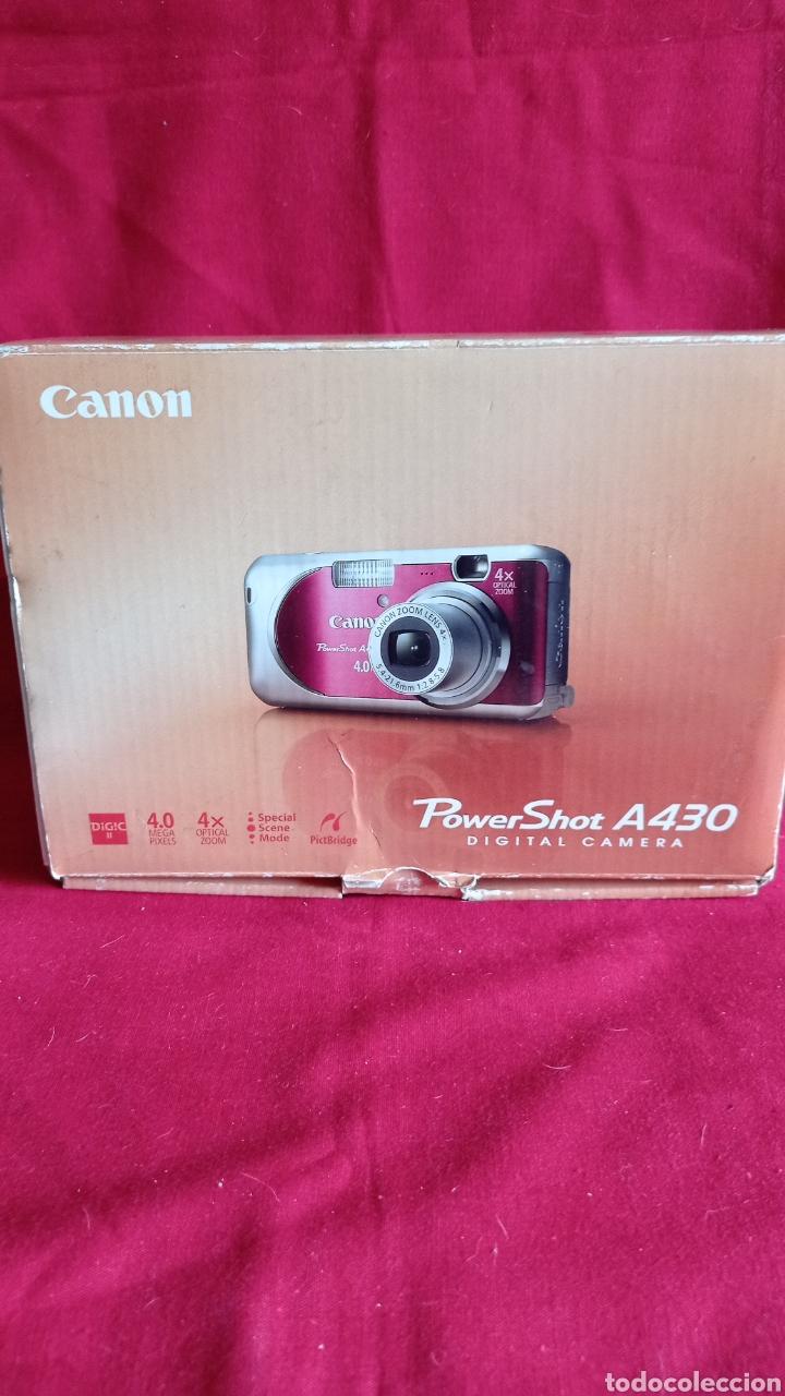 Cámara de fotos: CAMARA DIGITAL CANON / POWER SHOT A - 430 / EN SU CAJA ORIGINAL - Foto 6 - 285406353