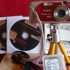 Cámara de fotos: CAMARA DIGITAL CANON / POWER SHOT A - 430 / EN SU CAJA ORIGINAL. Lote 285406353