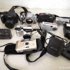 Cámara de fotos: LOTE DE CÁMARAS DE FOTOS, VARIAS MARCAS, TECNOLOGÍAS Y DISEÑOS, A REVISAR. Lote 286797453