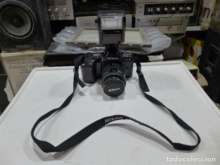 Cámara de fotos: CAMARA NIKON F-601M CON FLASH NIKON OBJETIVO NIKON 35-70 FILTRO ROWI HAZE OBJETIVO PRAKTICAR 70-210 - Foto 8 - 286966478