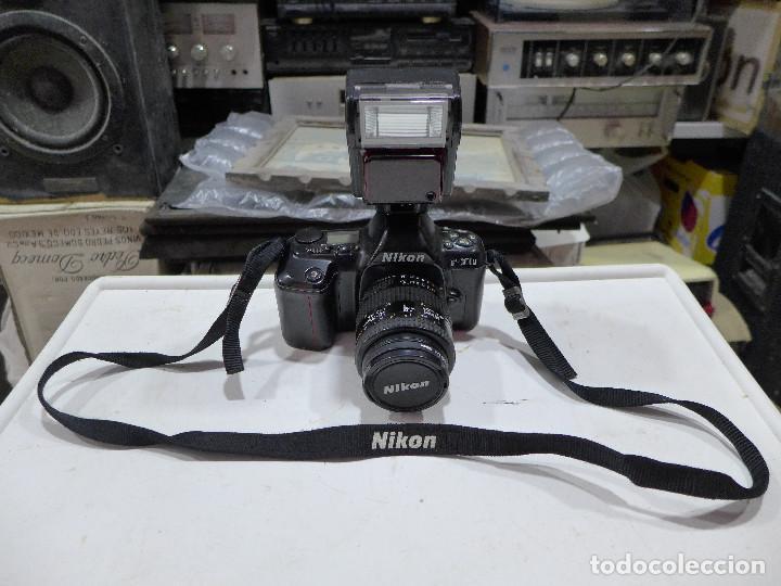 Cámara de fotos: CAMARA NIKON F-601M CON FLASH NIKON OBJETIVO NIKON 35-70 FILTRO ROWI HAZE OBJETIVO PRAKTICAR 70-210 - Foto 9 - 286966478