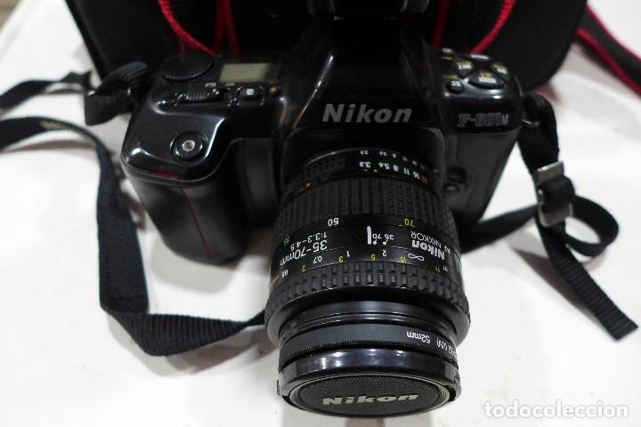 Cámara de fotos: CAMARA NIKON F-601M CON FLASH NIKON OBJETIVO NIKON 35-70 FILTRO ROWI HAZE OBJETIVO PRAKTICAR 70-210 - Foto 13 - 286966478