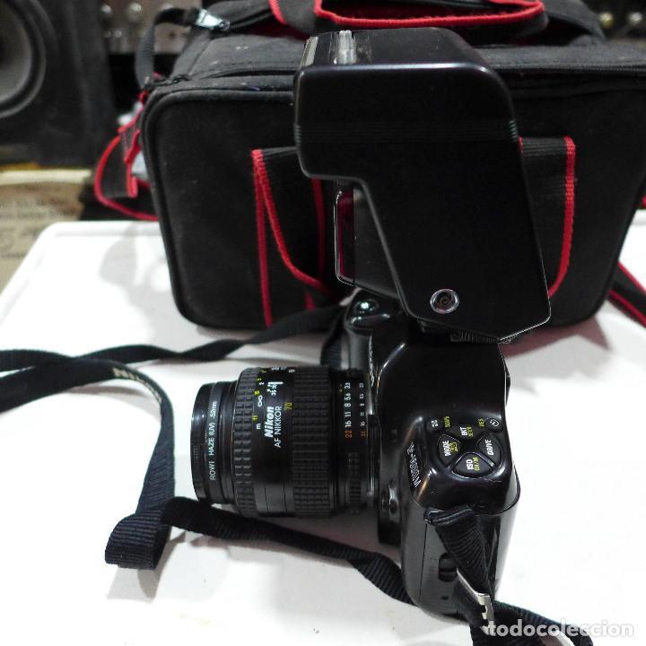 Cámara de fotos: CAMARA NIKON F-601M CON FLASH NIKON OBJETIVO NIKON 35-70 FILTRO ROWI HAZE OBJETIVO PRAKTICAR 70-210 - Foto 14 - 286966478