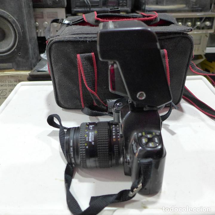Cámara de fotos: CAMARA NIKON F-601M CON FLASH NIKON OBJETIVO NIKON 35-70 FILTRO ROWI HAZE OBJETIVO PRAKTICAR 70-210 - Foto 18 - 286966478