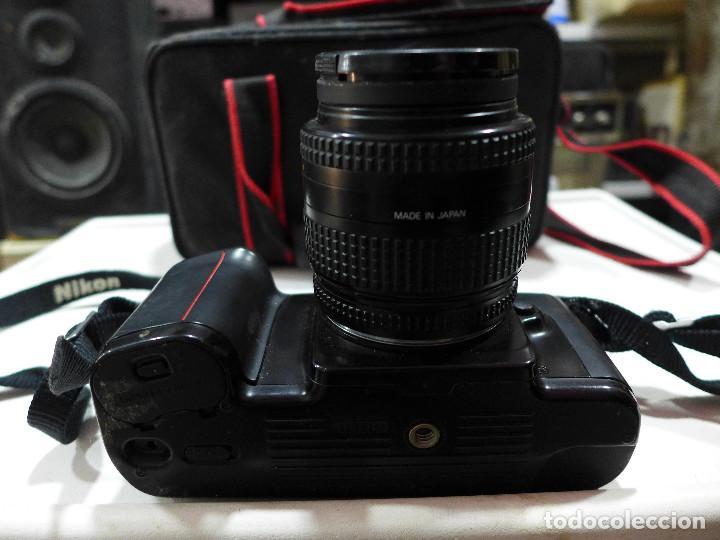 Cámara de fotos: CAMARA NIKON F-601M CON FLASH NIKON OBJETIVO NIKON 35-70 FILTRO ROWI HAZE OBJETIVO PRAKTICAR 70-210 - Foto 20 - 286966478