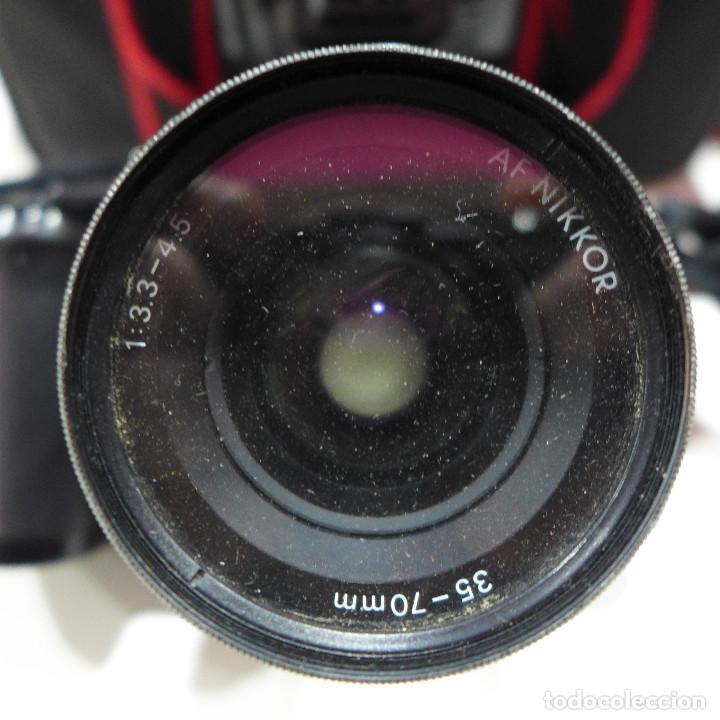 Cámara de fotos: CAMARA NIKON F-601M CON FLASH NIKON OBJETIVO NIKON 35-70 FILTRO ROWI HAZE OBJETIVO PRAKTICAR 70-210 - Foto 22 - 286966478