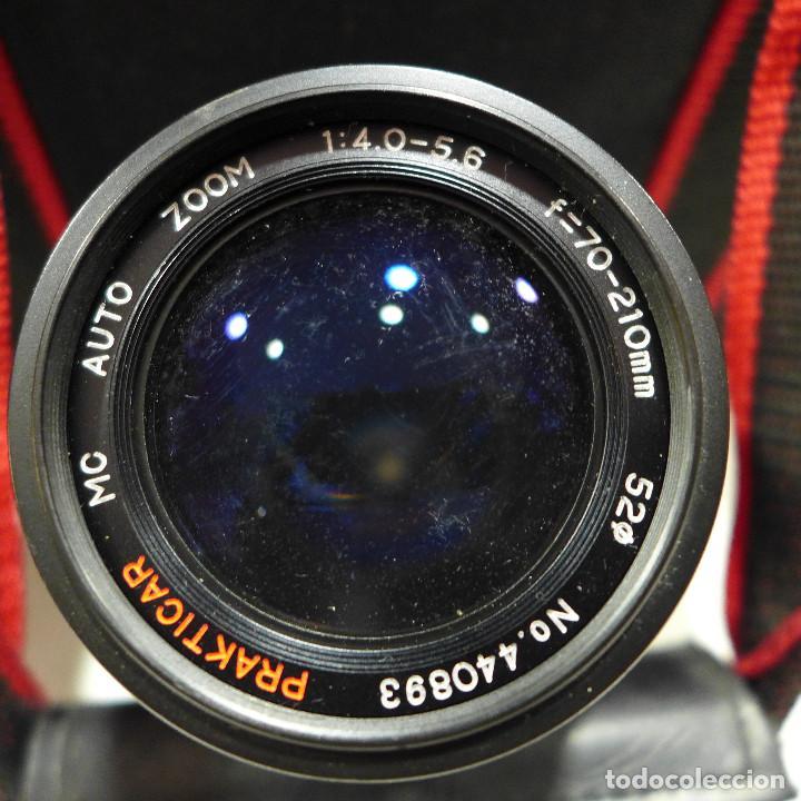 Cámara de fotos: CAMARA NIKON F-601M CON FLASH NIKON OBJETIVO NIKON 35-70 FILTRO ROWI HAZE OBJETIVO PRAKTICAR 70-210 - Foto 29 - 286966478