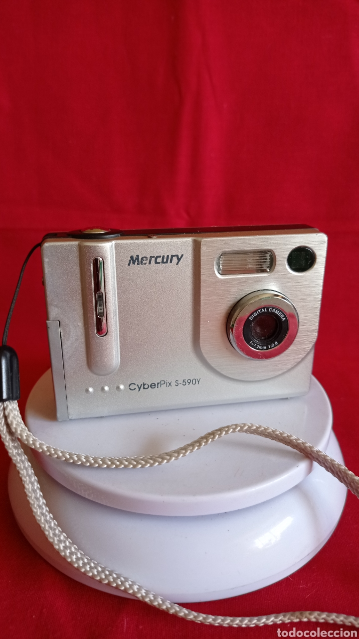 CAMARA FOTOGRAFICA / MERCURY / DIGITAL / CYBER PIX / S - 590 Y (Cámaras Fotográficas - Réflex (autofoco))