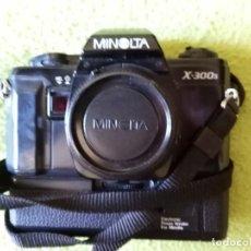 Cámara de fotos: CAMARA DE FOTOS MINOLTA X300 (DE CARRETE) EN PERFECTO ESTADO. Lote 287325808