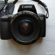 Cámara de fotos: CAMARA CANON EOS 1000F ZOOM LENS EF 35_80MM 1:4-5.6 .TAL CUAL COMO SE VE EN FOTOS. Lote 290919883