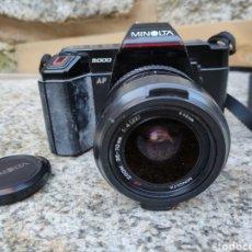 Cámara de fotos: 35 MM.SLR.MINOLTA 5000 AF.AÑO 1986.FUNCIONA. Lote 292535488