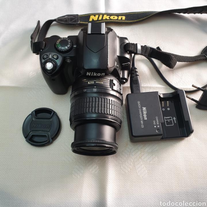 Cámara de fotos: CAMERA NIKON D40 AF-S NIKKOR 18-55 - Foto 2 - 293671713
