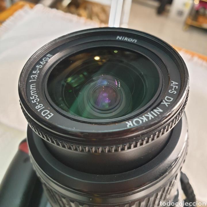 Cámara de fotos: CAMERA NIKON D40 AF-S NIKKOR 18-55 - Foto 9 - 293671713