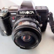 Cámara de fotos: MINOLTA 7000 AÑO 1985. Lote 295281493