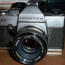 Cámara de fotos: PRAKTICA PLC3 SLR CON UN YASHINON F1.7 - F16 50MM LENS / AUTO . Lote 24406178