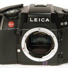 Cámara de fotos: LEICA R-8 NEGRA !NO USADA! ¡IMPECABLE¡. Lote 20307882