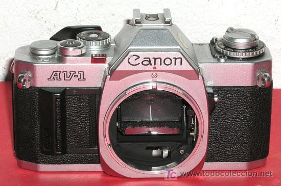 CANON AV-1 (Cámaras Fotográficas - Réflex (no autofoco))