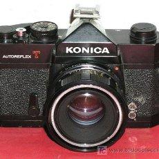 Cámara de fotos: KONICA AUTORREFLEX T. Lote 112555260