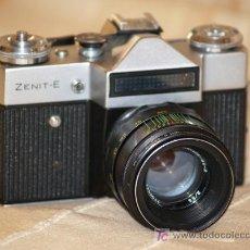 Cámara de fotos: ZENIT E (REFLEX UCRANIANA) CON SU OBJETIVO JUPITER. Lote 27277944