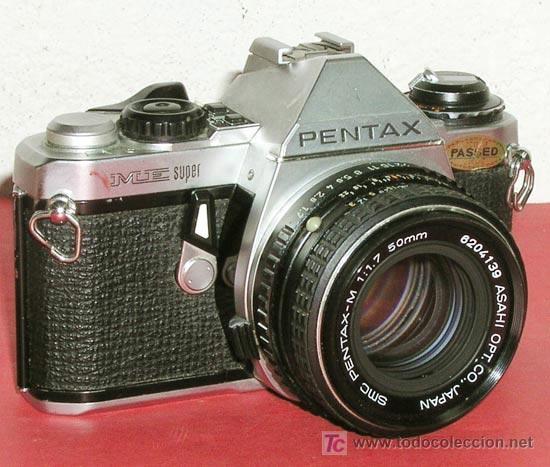 PENTAX ME- SUPER (Cámaras Fotográficas - Réflex (no autofoco))