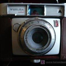 Cámara de fotos: CAMARA VERLISA FUNDA DE CUERO. SIN PROBAR. . Lote 26560350