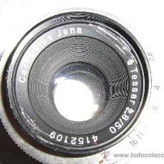 Cámara de fotos: ROSCA M42 TESSAR CROMADO 2,8/50 MM.. Lote 27261019
