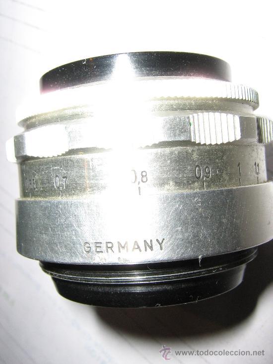 Cámara de fotos: rosca m42 tessar cromado 2,8/50 MM. - Foto 3 - 27261019