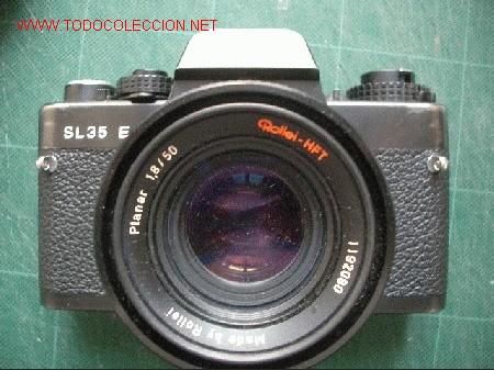 ROLLEIFLEX CON UN PLANAR 50MM F1.8 (Cámaras Fotográficas - Réflex (no autofoco))