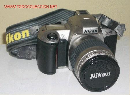UN VERDADERO REGALO PARA AFICIONADOS A LA FOTOGRAFIA DE CALIDAD!!! OPORTUNIDAD UNICA, NIKON F 65, (Cámaras Fotográficas - Réflex (no autofoco))