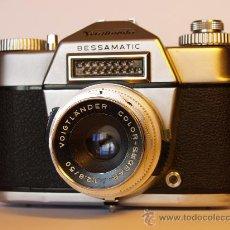 Cámara de fotos: VOIGTLANDER BESSAMATIC - FUNCIONANDO Y EN EXCELENTE ESTADO. Lote 27506038