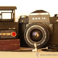 Cámara de fotos: EXA IC - FABRICADA POR IHAGEE (ALEMANIA) + MUCHOS COMPLEMENTOS. Lote 27343480