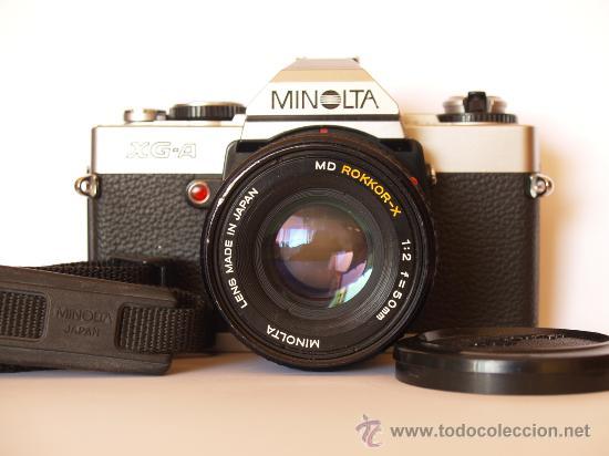 MINOLTA XG-A / REFLEX / EN EXCELENTE ESTADO ESTETICO (Cámaras Fotográficas - Réflex (no autofoco))