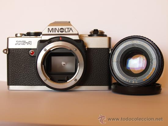 Cámara de fotos: MINOLTA XG-A / REFLEX / EN EXCELENTE ESTADO ESTETICO - Foto 2 - 57262534