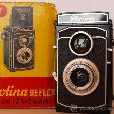 Cámara de fotos: PHOTINA MODELO I / REFLEX (TLR) - EXCELENTE ESTADO - PROCEDENTE DE SELECTA Y CUIDADA COLECCION.. Lote 27033557
