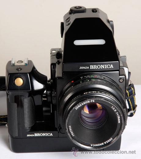 Cámara de fotos: ZENZA BRONICA ERTSi + MOTOR + VISOR AE III + 75MM + CHASIS 120 - Foto 2 - 29257011