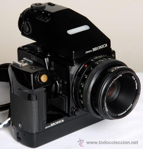 Cámara de fotos: ZENZA BRONICA ERTSi + MOTOR + VISOR AE III + 75MM + CHASIS 120 - Foto 3 - 29257011