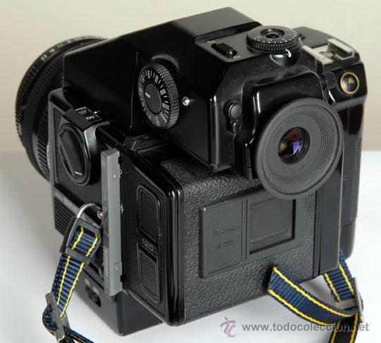 Cámara de fotos: ZENZA BRONICA ERTSi + MOTOR + VISOR AE III + 75MM + CHASIS 120 - Foto 4 - 29257011