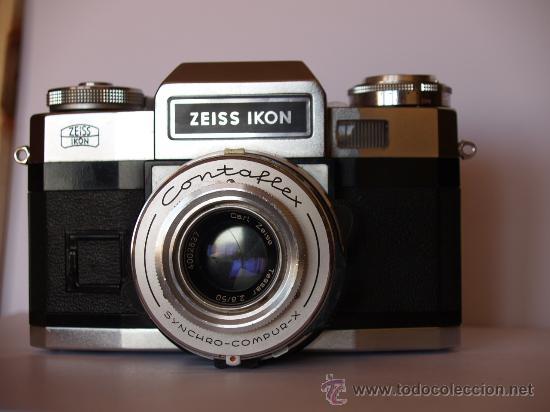 ZEISS IKON CONTAFLEX SUPER BC / FUNCIONANDO / EN EXCELENTE ESTADO (Cámaras Fotográficas - Réflex (no autofoco))