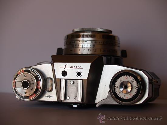 Cámara de fotos: ZEISS IKON CONTAFLEX SUPER BC / FUNCIONANDO / EN EXCELENTE ESTADO - Foto 2 - 27523516