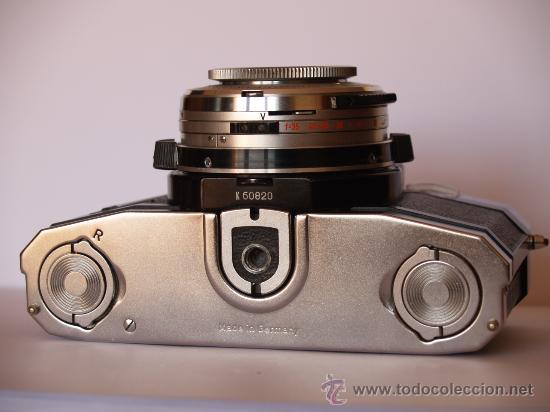 Cámara de fotos: ZEISS IKON CONTAFLEX SUPER BC / FUNCIONANDO / EN EXCELENTE ESTADO - Foto 3 - 27523516