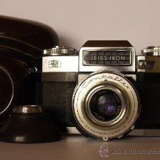 Cámara de fotos: ZEISS IKON CONTAFLEX SUPER B / FUNCIONANDO / EN EXCELENTE ESTADO. Lote 27526960