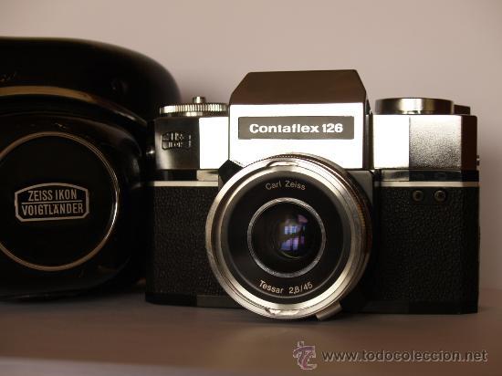 ZEISS IKON CONTAFLEX 126 / FUNCIONANDO Y EN EXCELENTE ESTADO (Cámaras Fotográficas - Réflex (no autofoco))