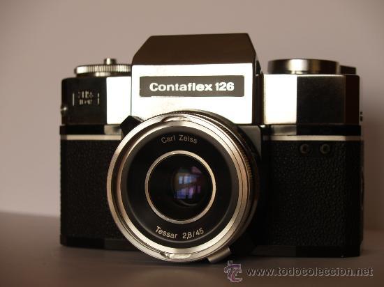 Cámara de fotos: ZEISS IKON CONTAFLEX 126 / FUNCIONANDO Y EN EXCELENTE ESTADO - Foto 2 - 27526963