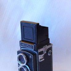 Cámara de fotos: CAMARA HACOFLEX 6X6 OBJETIVO TRI-LAUSAR ANASTIGMAT 1: 3.5 F= 8CM. Lote 27161599