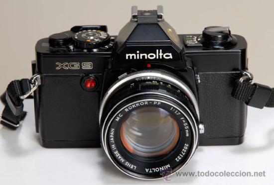 MINOLTA XG-9 (Cámaras Fotográficas - Réflex (no autofoco))