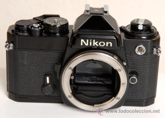 NIKON FE - AUTOMATICA Y MANUAL (Cámaras Fotográficas - Réflex (no autofoco))