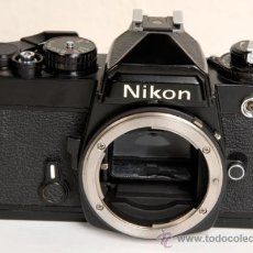 Cámara de fotos: NIKON FE - AUTOMATICA Y MANUAL. Lote 27601068